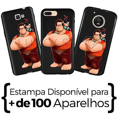 Capinha - Ralph Personagens - Black