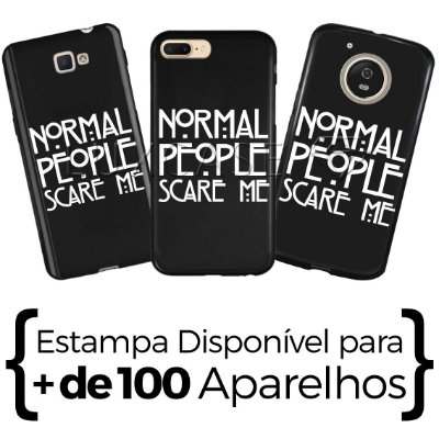 Capinha - Normal People Scare-me - Black