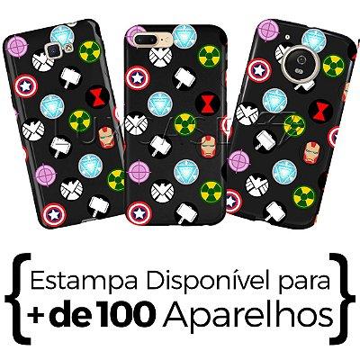 Capinha - Pattern Heróis - Black