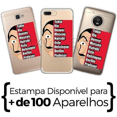 Capinha - Personagens Casa de Papel