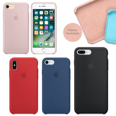 Capinha de Silicone Super Case para Apple