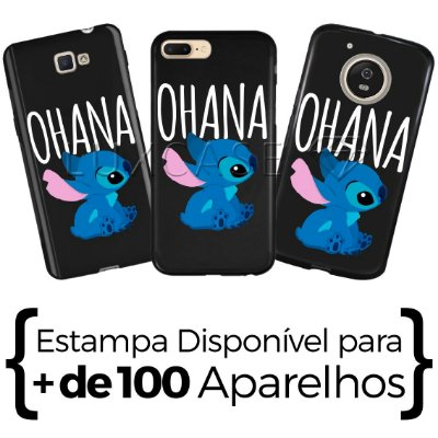 Capinha Stitch - Black