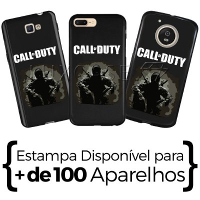 Capinha Call Of Duty - Black