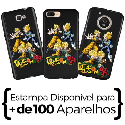 Capinha DragonBall - Black