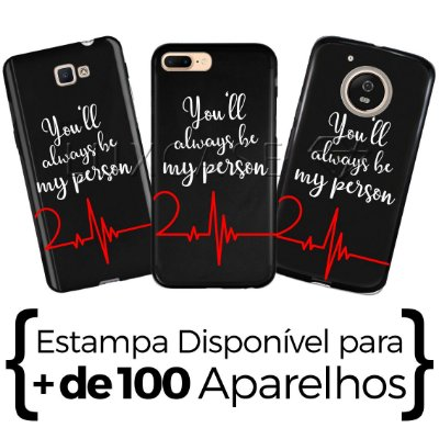 Capinha - Grey's Anatomy Person Direito - Black