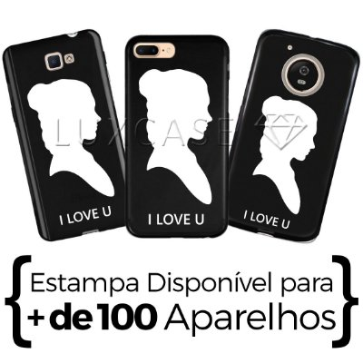 Capinha - Leia I Love You - Black