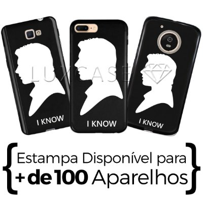 Capinha - Han Solo I Know - Black