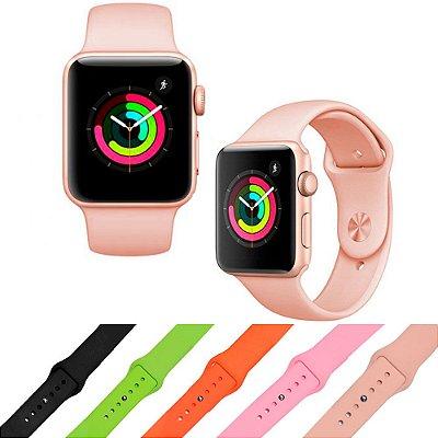 Pulseira de Silicone para Apple Watch 42mm