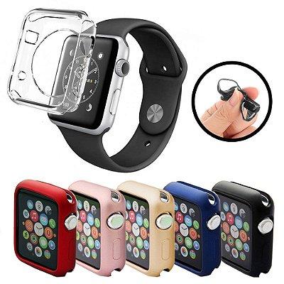 Capinha de Silicone TPU para Apple Watch