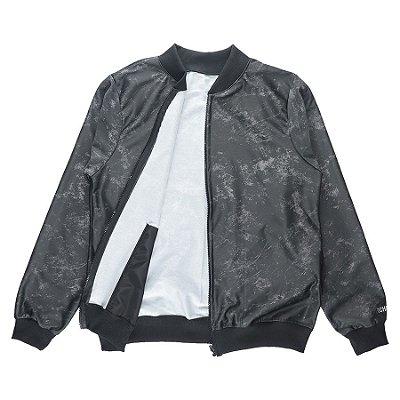 Jaqueta Bomber Chess Clothing Stone