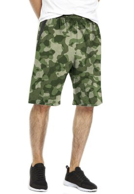 Bermuda - Camo Army - Dri-Fit