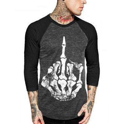 Camiseta Raglan Chess Clothing Manga 3/4