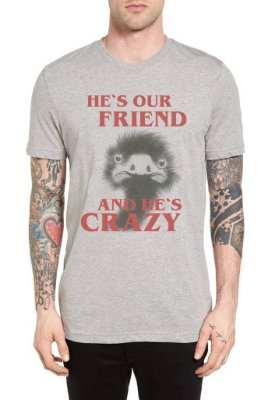 Camiseta - He's our friend - Site dos Menes
