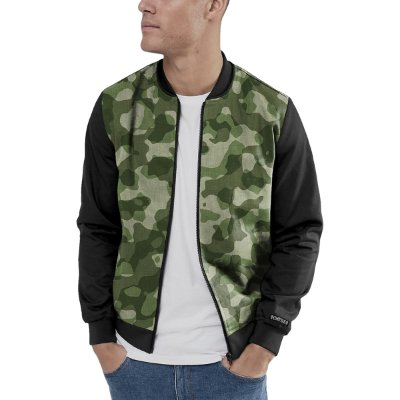 Jaqueta Bomber Chess Clothing Camo Militar
