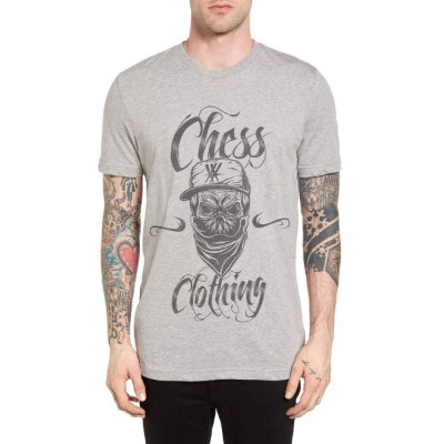 Camiseta Chess Clothing Killer Cinza