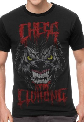 Camiseta Chess Clothing Blood Preto