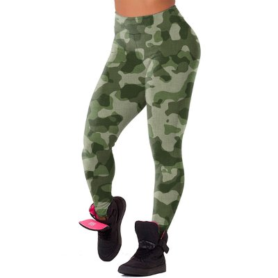 Legging Chess Clothing Camuflada Verde