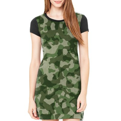 Vestido Chess Clothing Camuflado Verde
