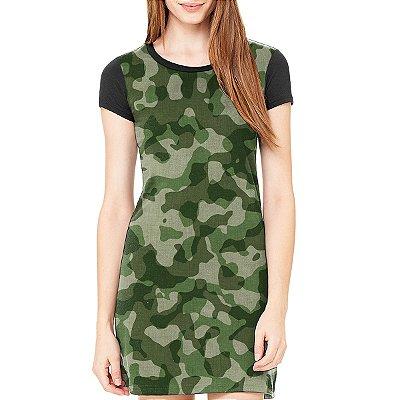 Vestido Chess Clothing Camuflado Verde