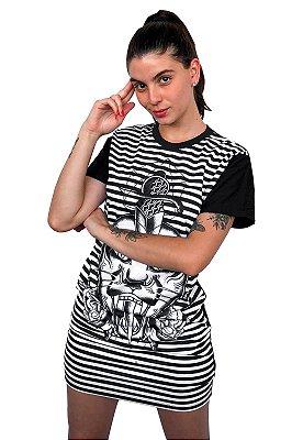 Vestido Chess Clothing Tigre Preto