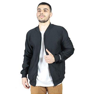 Jaqueta Bomber Chess Clothing Basic Preto