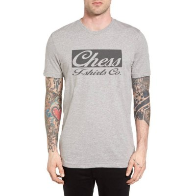 Camiseta Chess Clothing Co. Cinza