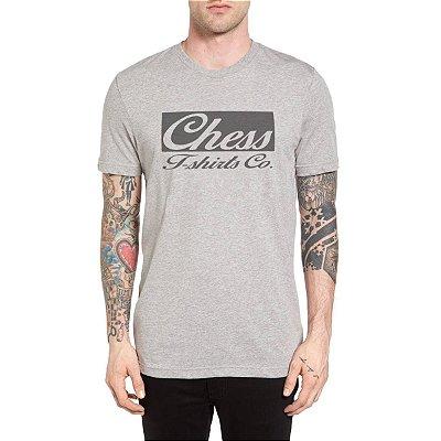 Camiseta Chess Clothing Co. Cinza