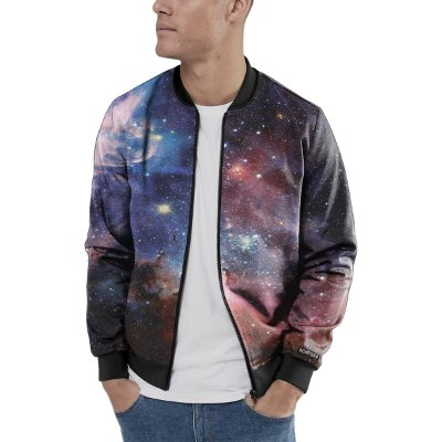 Jaqueta Bomber Chess Clothing Galaxia