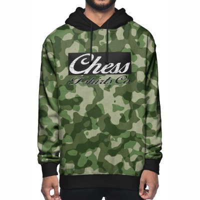 Moletom Chess Clothing Co. Camuflado Verde