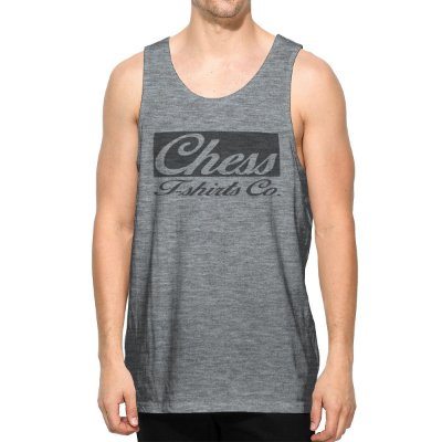 Regata Chess Clothing Logo Cinza
