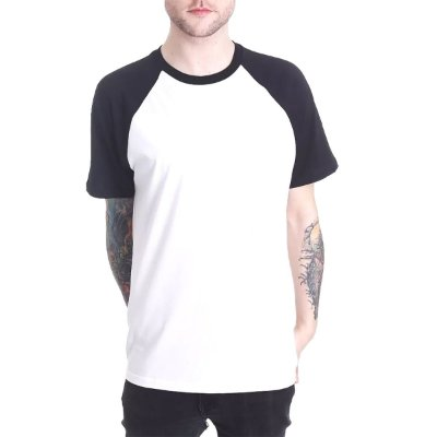Raglan Chess Clothing Basic Branco
