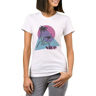 Camiseta Feminina Chess Clothing SDM Mene Vice Branca