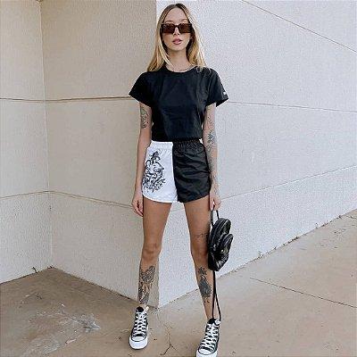 Shorts Feminino Chess Clothing Tiger