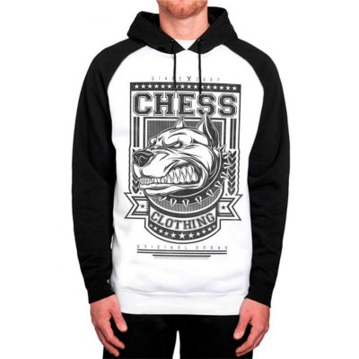 Moletom Raglan Chess Clothing Dog Furious
