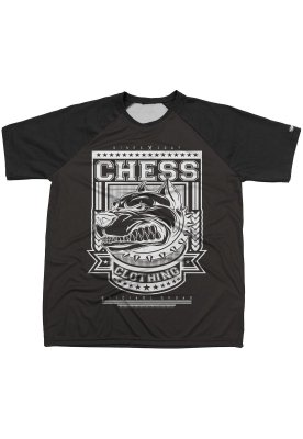 Camiseta Chess Clothing Estampa Dog