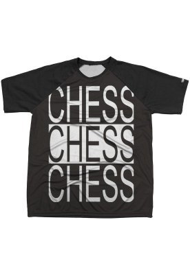 Camiseta Chess Clothing Estampa Chess X3