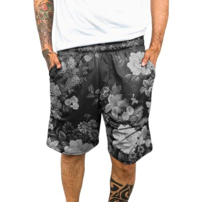 Bermuda Chess Clothing Dri-Fit Floral