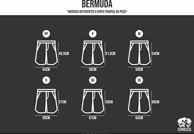 Medidas Bermuda Masculina