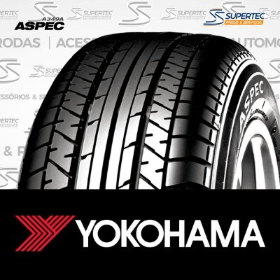 PNEU 225/65R17 102H ASPEC A349A YOKOHAMA (Original Dodge Journey, Fiat Freemont e Chrysler Town & Country)
