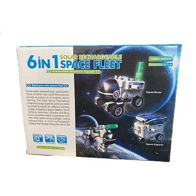 Kit Robô Solar 6 em 1 - Space Fleet