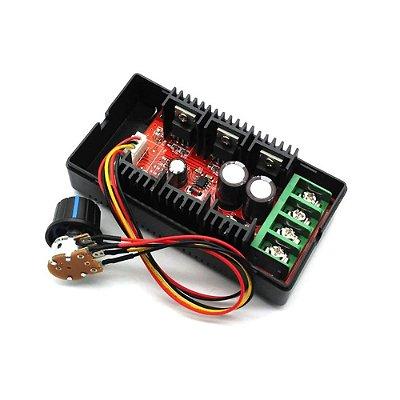 Controlador de Velocidade 50V 40A 2000W PWM - com Potenciometro