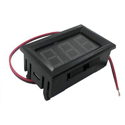 Voltímetro Digital - 3 Dígitos - 4.5V - 30V
