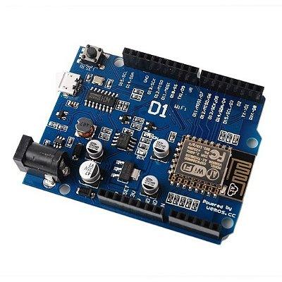 Placa WeMos D1 Wifi ESP8266