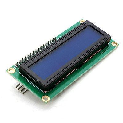 Display LCD 16x2 com I2C e Backlight Azul