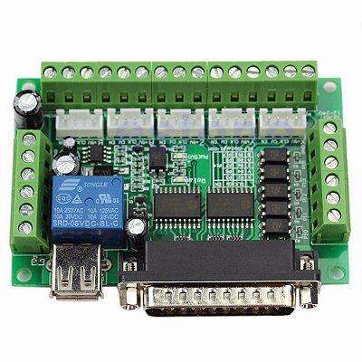 Placa Controladora CNC Interface Mach3