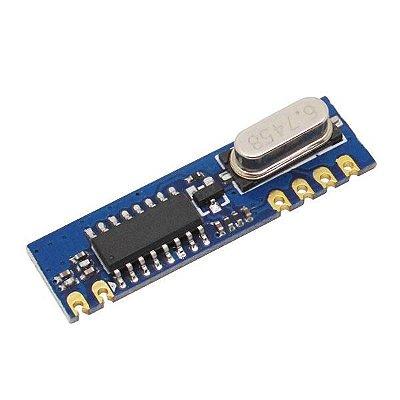 Receptor RF com Chip Super Heteródino (heterodyne)