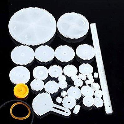 Kit Engrenagens Plásticas com Correias