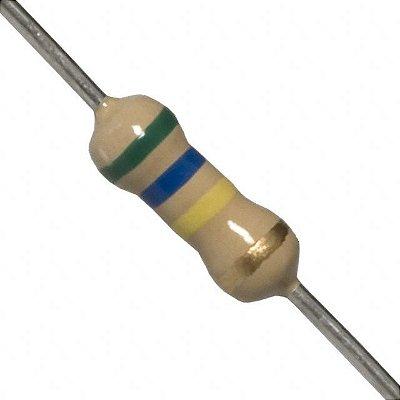 Resistor 560K 1/4W (10 Unidades)