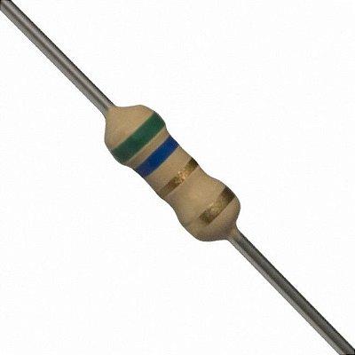 Resistor 5R6 1/4W (10 Unidades)