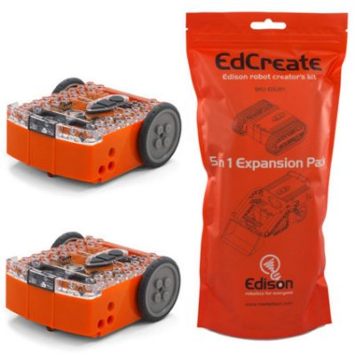 Kit com 2x Edison V2.0 + 1x EdCreate